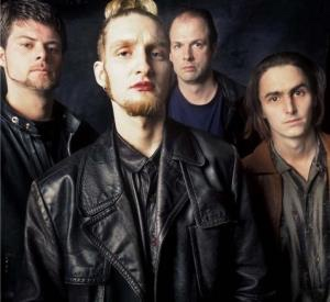 Layne Staley with Mad Season 1995 - Photo by Lance Mercer