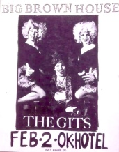 The Gits gig poster