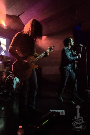 Thunders Of Wrath and Hobosexual Vinyl Release Party at Fawcett Hall in Alma Mater - Tacoma WA, 9 November 2018. Photo by Kurt Clark / Nehi Stripes Musiczine Seattle / NehiStripes.com