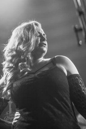 Opening for Pamela Moore at Louie G's Pizza in Fife WA, 16 March 2019. Photo by Kurt Clark / Nehi Stripes Musiczine Seattle / NehiStripes.com
