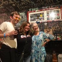 L to R: Brendan Maier, Anna Millette, and Nancy McCallum