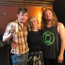 Brendan Maier, Nancy McCallum & Daryl Williams