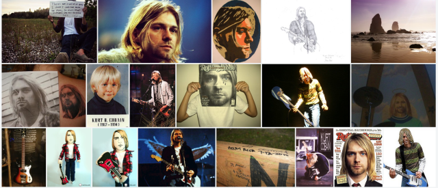 Kurt Cobain Collage Flickr