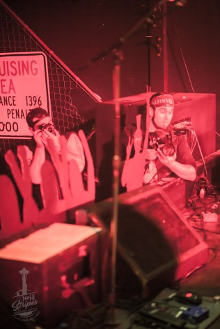 Tony V's Garage in Everett WA, 9 May 2020. Photo by Kurt Clark / NeHi Stripes Seattle / NeHiStripes.com